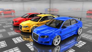 Audi ShowRoom by gfx-micdi-designs