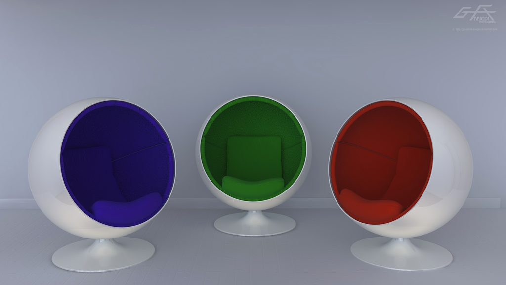 Exceptionnel Orb Chairs By Gfx Micdi Designs ...