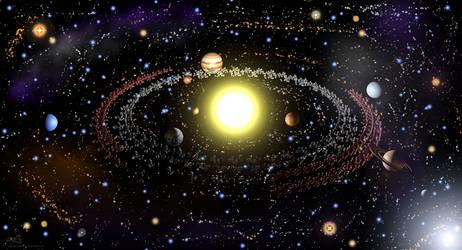 N' Kuiper Belt -  Solar System