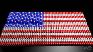 Orbs Unite - USA FLAG by gfx-micdi-designs