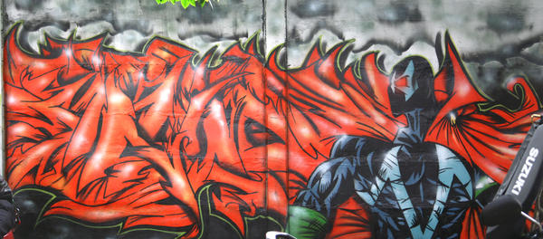 core dark on wall by ALSQUAD
