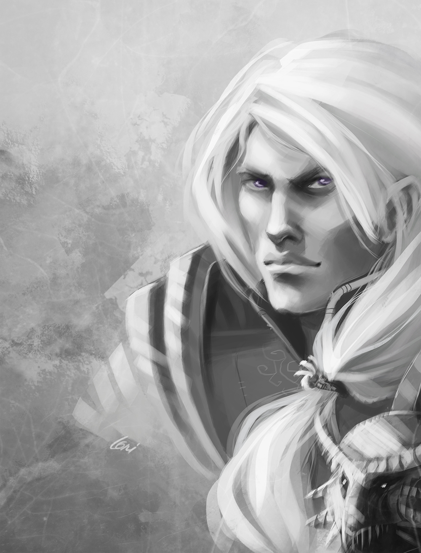 Rhaegar Targaryen by Lulolana