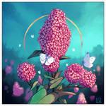 Summer Lilacs I