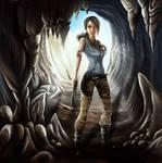 Lara Kroft 2 by okksuha