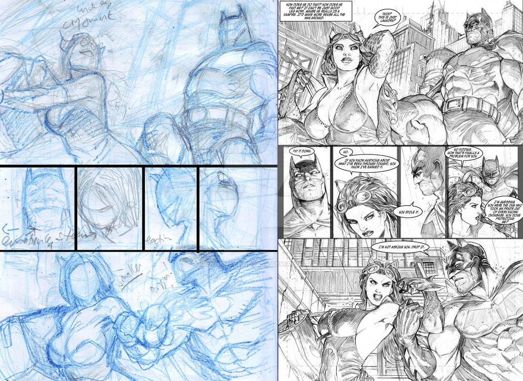 practice.batman catwoman. p01 by donnyhadiwidjaja