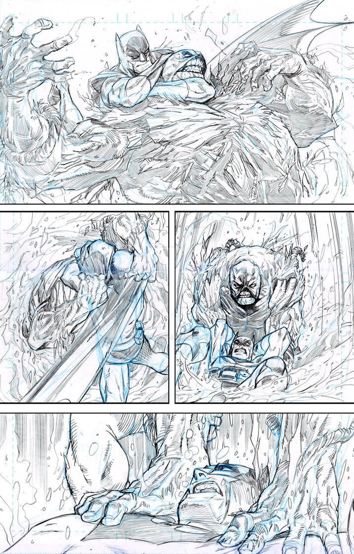 practice  Batman Swampthing Page 05 Small by donnyhadiwidjaja