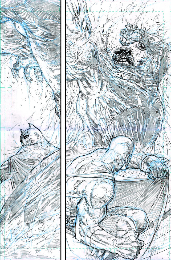 practice  Batman Swampthing Page 03 by donnyhadiwidjaja
