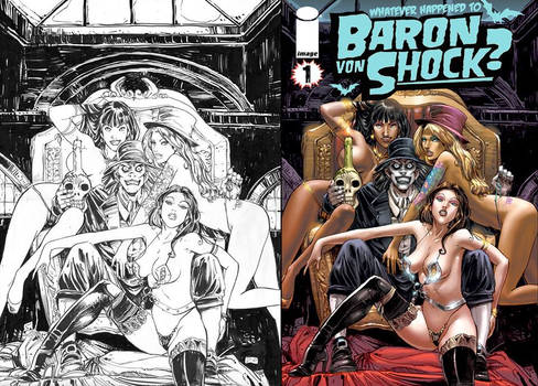 whatever happened to baron von shock? issue #1   p