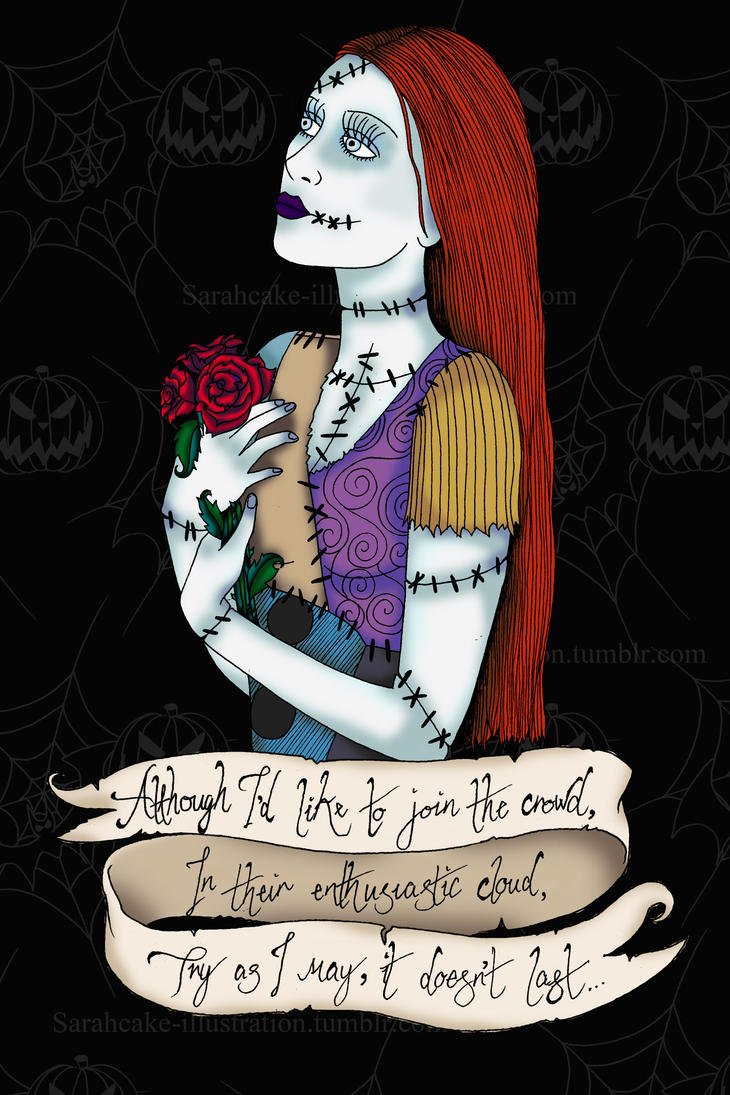 Sally Nightmare Before Christmas Portrait by SarahCake-Design on ...