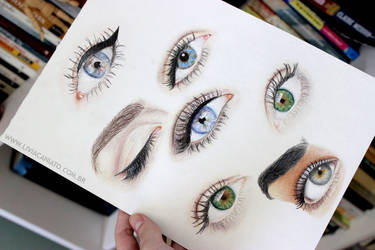 eyes by liviacaniato