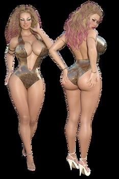 Swimsuit Opposites Contest