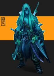 [FAN ART] Darksiders II - Blade Master by MyFuckingGod
