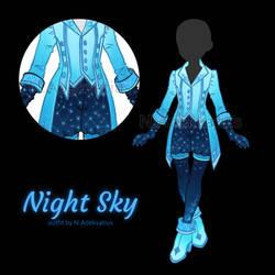 [OUTFIT ADOPT] Night sky #2 (CLOSE) by MyFuckingGod
