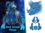 [CLOSE HALFBODY ADOPT] Dark Cosmic Prince