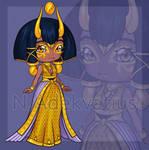 [OPEN ADOPT] Egyptian Chibi-Girl (OPEN) by MyFuckingGod