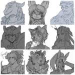 [OPEN COMMISSION] Sketch portrait (1 slot) by MyFuckingGod