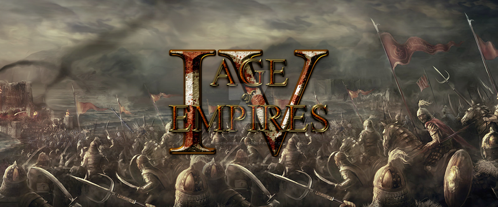 Age Of Empires IV Logo by joey-and-rattata ...