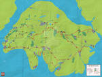 Island Of Sodor Map Redesign by joey-and-rattata