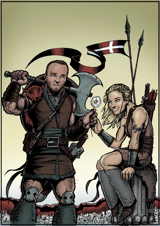 WEDDING COMMISSION: Viking Theme
