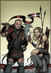 WEDDING COMMISSION: Viking Theme by ReeceFriesen