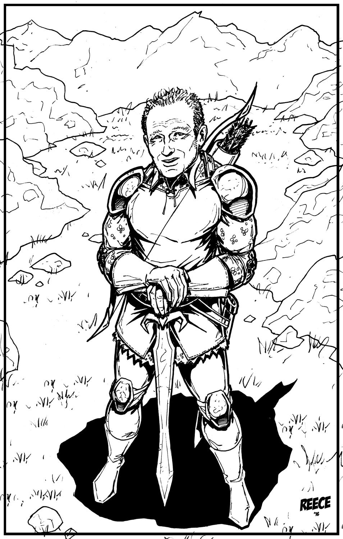 COMMISSION: OC Knight