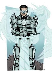 Lantern-Knight---White