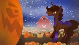 Faime Drawlloween Day 1 - The Pumpkin Patch