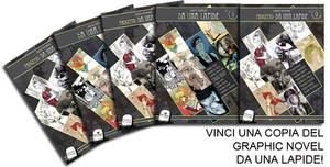 Vinci una copia del graphic novel DA UNA LAPIDE