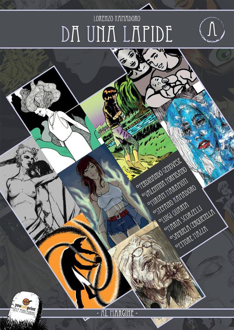 Graphic Novel _ Da una Lapide - Al Margine _ Cover by lorerama