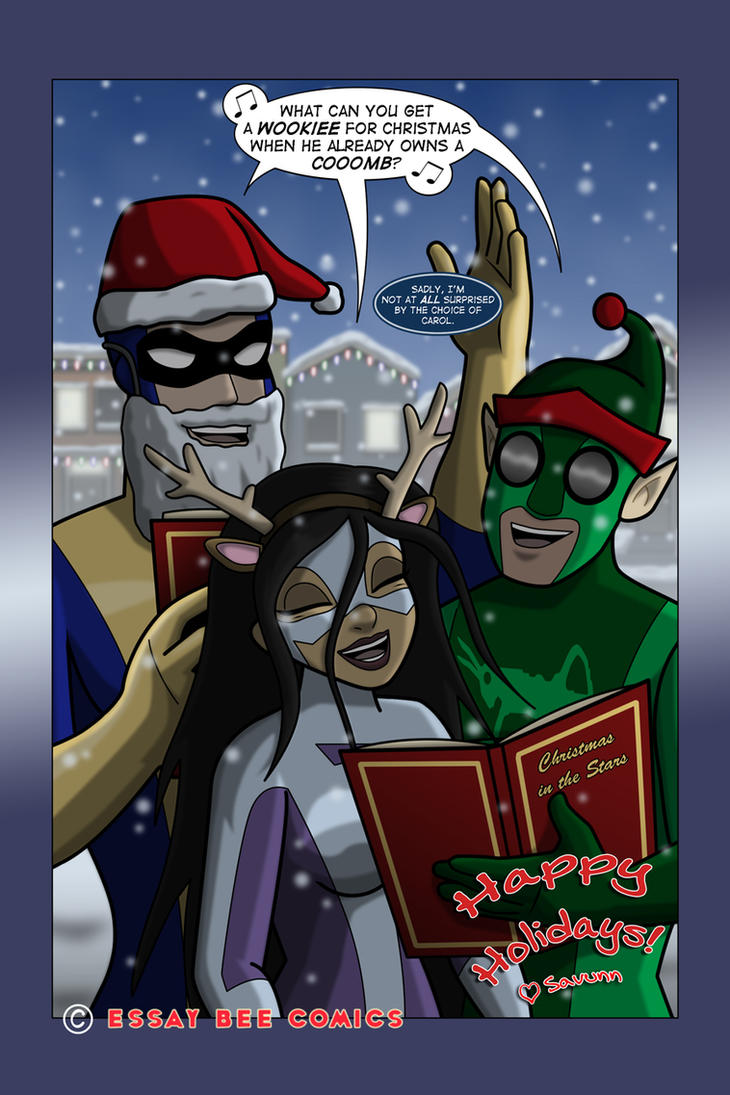 Fusion Christmas 2014 by EssayBee