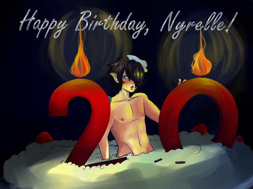 Happy Birthday by CosmicCherry