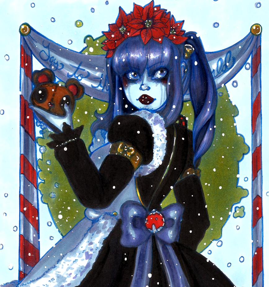 Ten Marker Challenge: The Christmas Spirit by CosmicCherry
