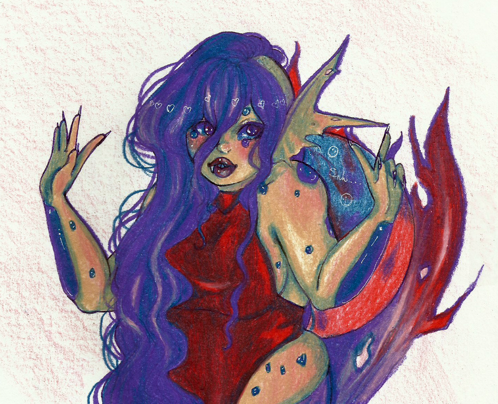 Palette Challenge: Witchy Woman by CosmicCherry