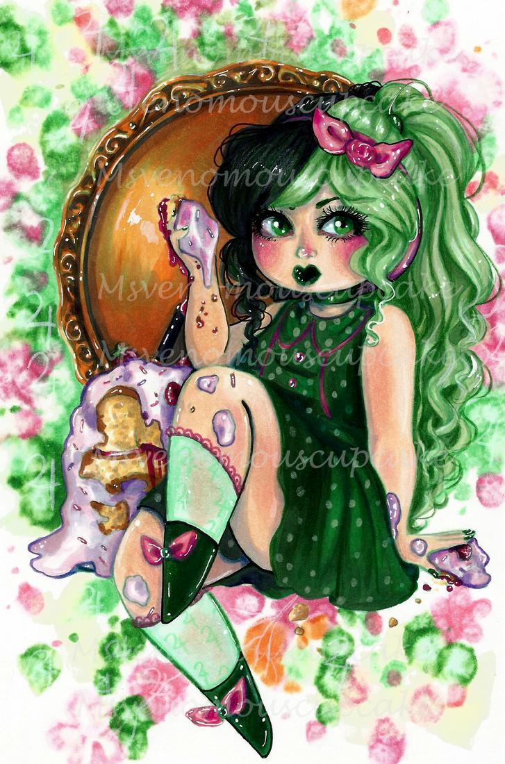 Melanie Moon Series: Cake by CosmicCherry