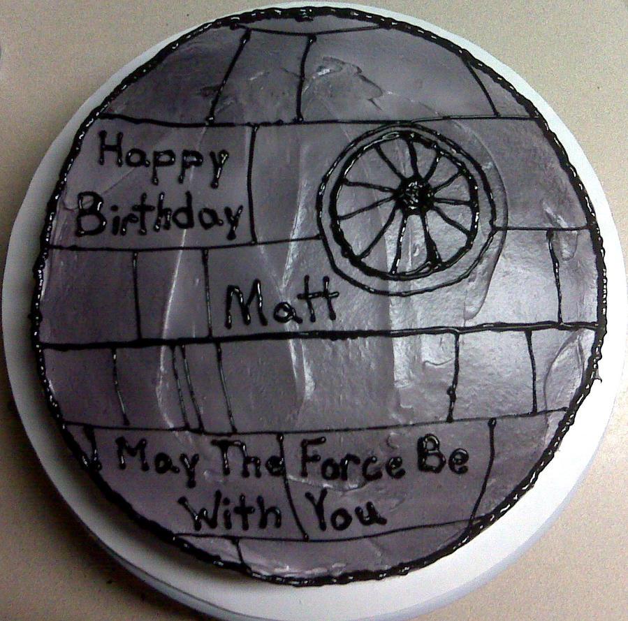 Deathstar cake by mandyscakesncandies on deviantart