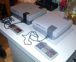 NES Cake-Comparison by MandysCakesNCandies