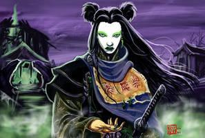 Tainted Samurai-ko v.2.0 by Silent-Black