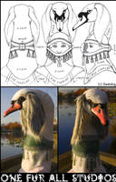 Fursuit Head--Final by swandog