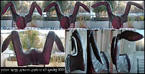 Fursuit Wings Armature Mock-up
