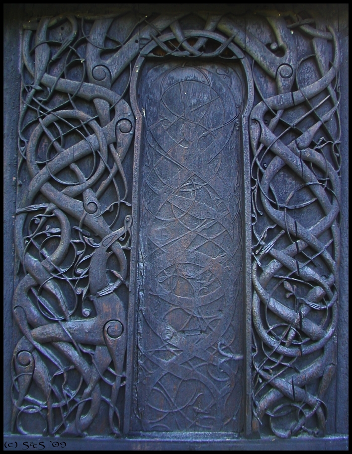 Urnes Knotwork by swandog