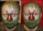 'Birchwood Bull' Facepaint
