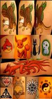 Fandom 'Tattoos' at Desucon 6