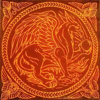 Firewheel Gryphon by swandog