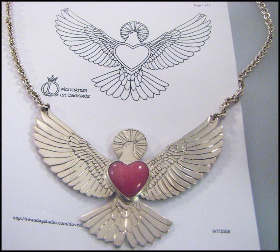 Dove Pendant Design by swandog