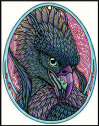 Yldornis Egg Badge by swandog