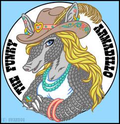 The Funky Armadillo (Logo)