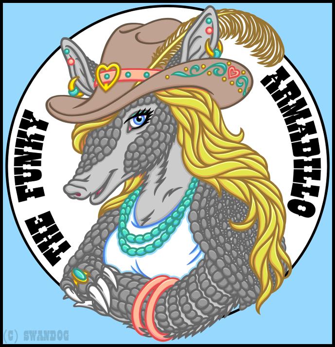 The Funky Armadillo (Logo) by swandog