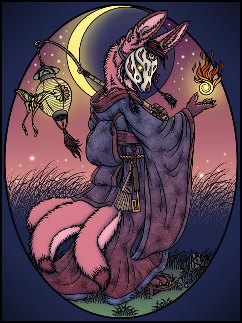 Fennec Foxfire by swandog
