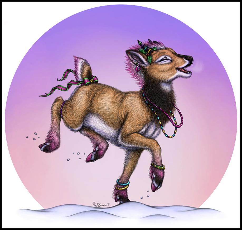 #ReindeerGames: 'Bous Just Wanna Have Fun! by swandog