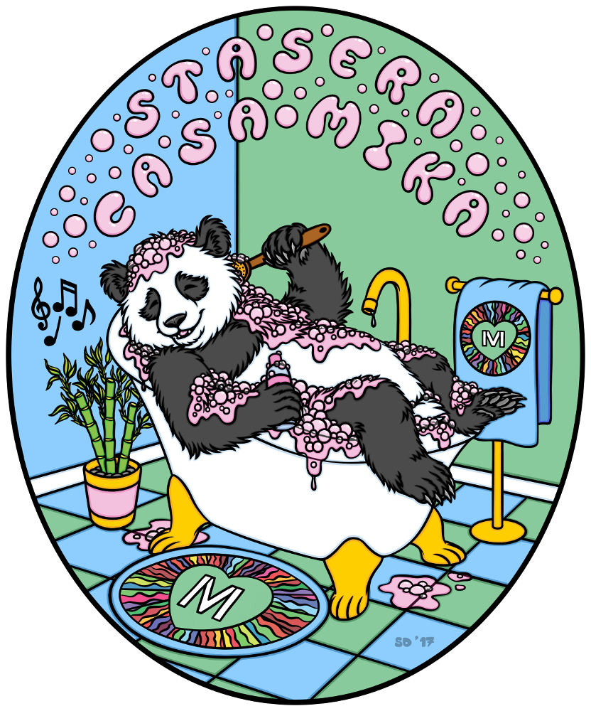 Stasera Casa Mika (Bathroom Edition) by swandog